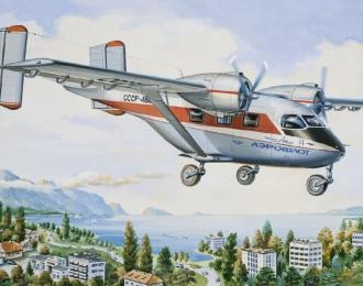 Сборная модель Пассажирский самолет Ан-14 Аэрофлот