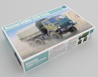 Сборная модель Российский армейский грузовой автомобиль Камский грузовик 4310