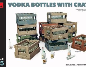 Сборная модель Набор дополнений Ящики с бутылками водки