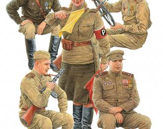 Сборная модель Советский экипаж джипа