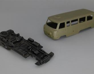 Набор для конверсии УАЗ-452К (6х6) Опытный, хаки