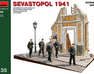 Сборная модель Наборы для диорам  SEVASTOPOL 1941