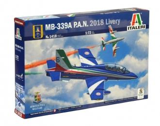 Сборная модель Итальянский учебно-боевой самолет Aermacchi MB-339A в ливрее P.A.N. 2018