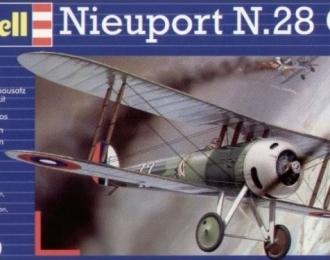 Сборная модель Французский самолет Nieuport N.28 C-1