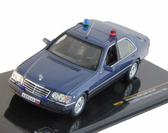 MERCEDES-BENZ S600 W140 (1993) Russian Presidential Security, blue