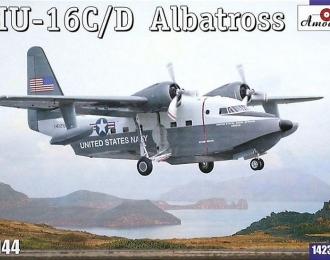 Сборная модель Американский самолет-амфибия Grumman HU-16C / D Albatross
