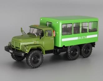 ЗИЛ 131 Вахта, Грузовики СССР 27, зеленый