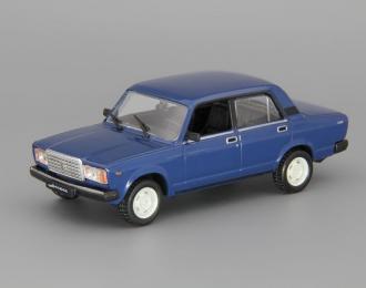 ВАЗ 2107 Жигули, Автолегенды СССР 31, синий