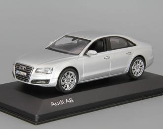 AUDI A8 L, ice silver