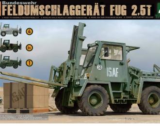 Сборная модель Автопогрузчик Bundeswehr Feldumschlaggerat FUG 2,5T