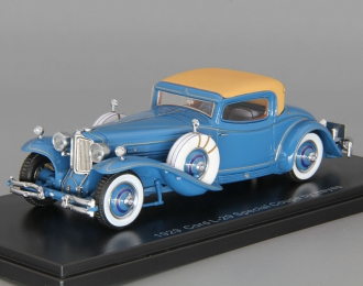CORD L-29 Coupe 1929 by Hayes for Count Alexis de Sakhnoffsky chassis 2927005, blue
