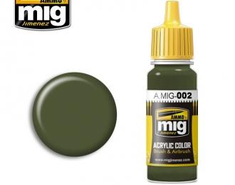 RAL 6003 OLIVGRUN OPT.2 (Оливковый зелёный, вариант 2)