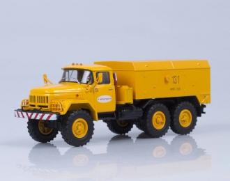 Унифицированный моторный подогреватель (УМП) 350 на шасси ЗИЛ 131 Аэрофлот, (1975), желтый