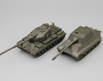 Набор из 2 моделей танков KONIGSTIGER DBGM / CONQUEROR