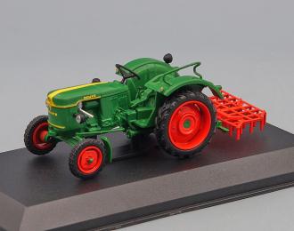 Deutz F2L 612/6 (1956г.), Тракторы 123, green
