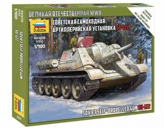 Советская самоходная артиллерийская установка Су-122