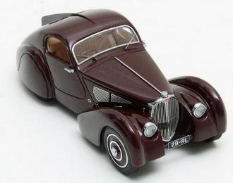 BUGATTI Type 51 Dubos Coupe #51133 1931 Maroon