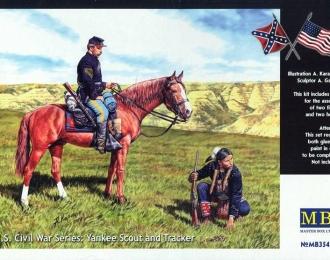 Сборная модель Гражданская война в США Серия: Yankee Scout и Tracker