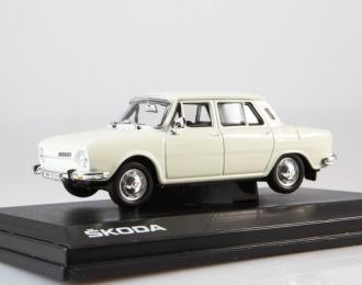 Skoda 110L (1973) white