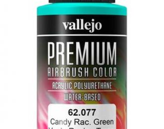 """Краска акрил-уретановая """"Premium Color"""" Зеленый /Candy racing green"""