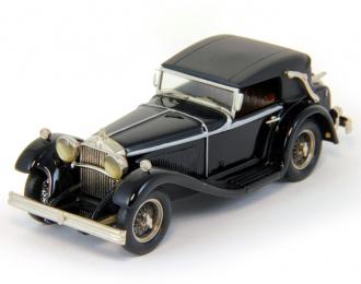 MERCEDES-BENZ 370S Mannheim Cabriolet (1934), black