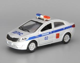 KIA Rio Полиция, silver
