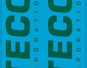 Набор декалей 0047 Транспортная компания ITECO, зеленый (100х140)