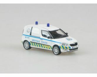 SKODA Praktik Mestska Policie Praha 2014, white