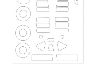 Маска для BW-239 Finnish (Hasegava)