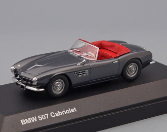 BMW 507 Convertible (1956), silver grey