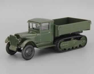 ЗИС-22М бортовой, зеленый