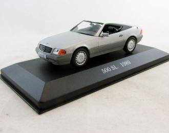 MERCEDES-BENZ 500 SL (1989), Mercedes-Benz Offizielle Modell-Sammlung 36, silver