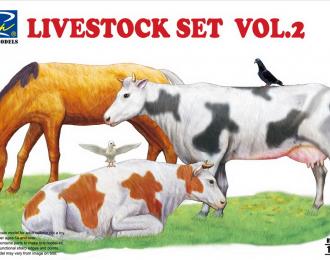 Сборная модель Livestock Set Vol.2 (Домашние животные, 2 часть)