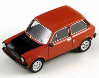 ABARTH Autobianchi A112 1974, red