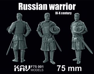 Южнорусский дружинник 14 век , 75 мм