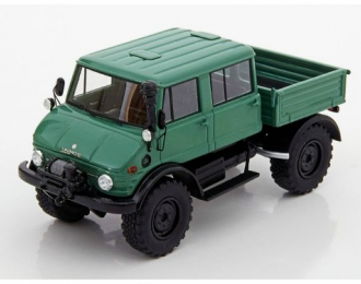 MERCEDES-BENZ Unimog U416 Double Cabin 4x4 1977 Green