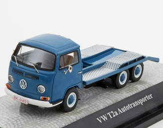 VOLKSWAGEN T2a Car Transport (1967), blue