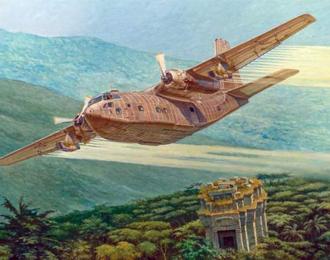 Сборнаяя модель Самолет Fairchild C-123K/UC-123K