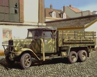 Сборная модель Henschel 33D1, Германский армейский грузовой автомобиль IIMB
