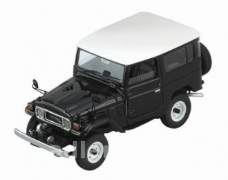 TOYOTA Land Cruiser FJ40, black / white roof