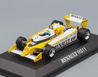 RENAULT F1 RS11 Winner Dijon (Jean-Pierre Jabouille) 1979, желтый