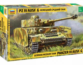 Сборная модель Немецкий средний танк Pz IV Ausf. G
