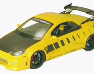 PEUGEOT 206CC Parotech 2005, yellow