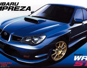 Сборная модель Subaru Impreza '05 WRX STi