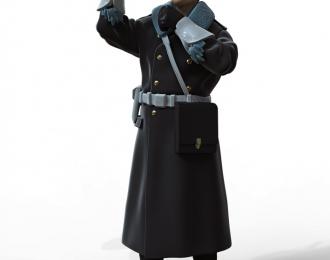 Сборная модель Фигура Инспектор ГАИ №4
