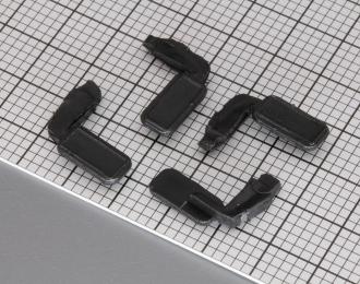 Зеркала для КамАЗ (Арек / Элекон), комплект 2 пары, черный