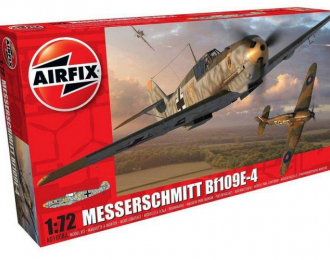 Сборная модель Самолет Messerschmitt BF109E
