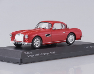 TALBOT Lago 2500 Coupe (1955), red