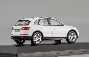 Audi Q5 (2016), white