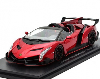 Lamborghini Veneno Roadster (red with red line)